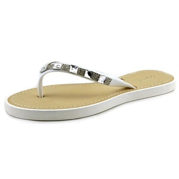 Qupid Jammy 08 White Sandals
