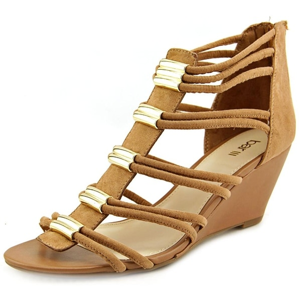 Bar III Krystal   Open Toe Synthetic  Wedge Heel