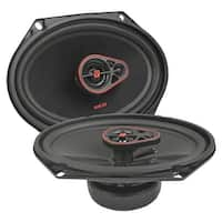 """CERWIN-VEGA MOBILE H7683 HED(R) Series 3-Way Coaxial Speakers (6"""" x 8"""", 360 Watts max)"""
