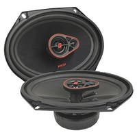 "Cerwin Vega Hed 6""X 8"" 3-Way Coaxial Speaker Set - 360W Max / 55W Rms"