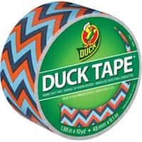 Shurtech Brands 283044 Tape Duct Blue Chevron 10 Yards