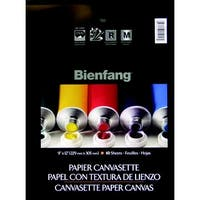 Bienfang Canvasette Pad, 9 x 12 in, Pack of 10