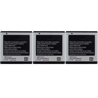 New Replacement Battery For SAMSUNG Galaxy S Mobile Smart Phone ( 3 Pack)