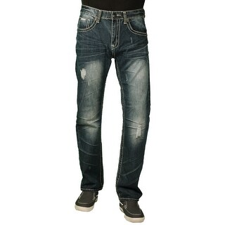 Parish Nation Young Men's Dark Stonewash Fashion Jeans (2 options available)