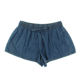 Soft Joie Womens Lyocell Denim Casual Shorts - L