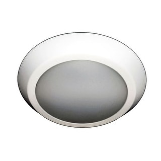 HomeSelects International 8136 eLIGHT Single Light LED Flush Mount Ceiling Fixtu