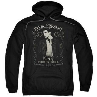 Elvis/Rock Legend Mens Pullover Hoodie