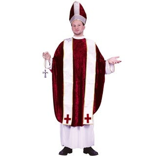 Fun World Cardinal Adult Costume - Red - Standard