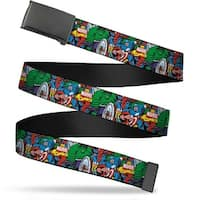 Marvel Comics Blank Black  Buckle Marvel Comics Marvel Characters Web Belt