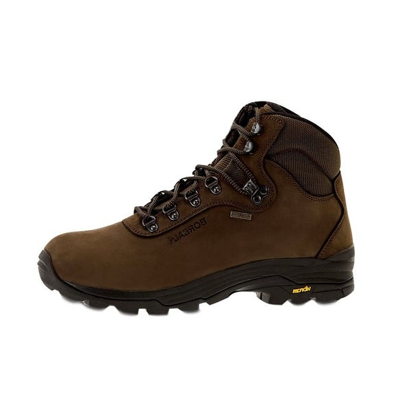 Boreal Climbing Boots Mens Lightweight Rubber Pointer Brown