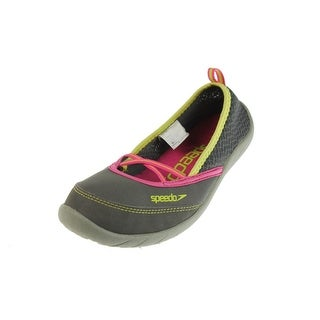 Speedo Womens Beachrunner 3.0 Mesh Slip On Water Shoes - 5 medium (b,m)