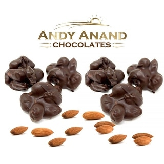 Andy Anand Sugar Free Dark Chocolate Almond Cluster 1 lbs