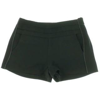 Juicy Couture Black Label Womens Tuxedo Crepe Dress Shorts - 8