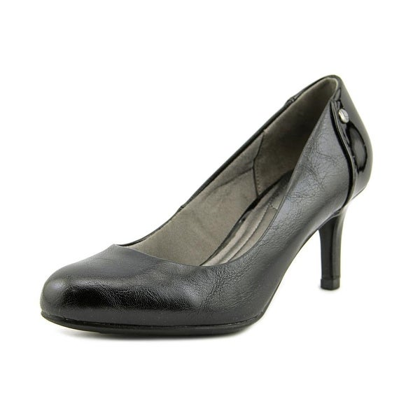 Life Stride Lively Women Round Toe Synthetic Black Heels