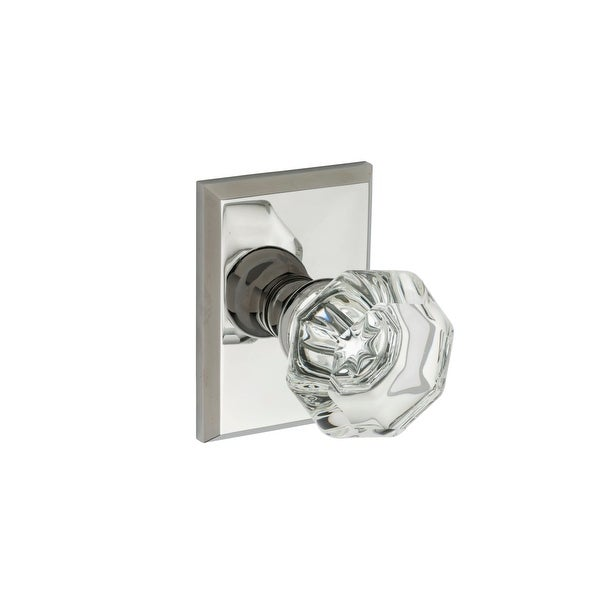 Montana Forge K4-R2-4090 Single Dummy Door Knob Set with K4 Knob and R2 Rose from the Contemporary Collection