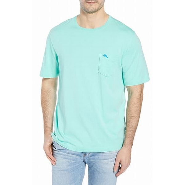 8d75ba2c Shop Tommy Bahama Green Mens Size Medium M Front Pocket Tee T-Shirt - Free  Shipping On Orders Over $45 - Overstock - 28167913