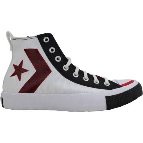 Converse Untitled HI White/University Red/Black 168635C Men's