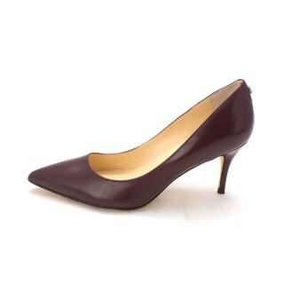 Ivanka Trump Womens Tirra Leather Pointed Toe Classic Pumps