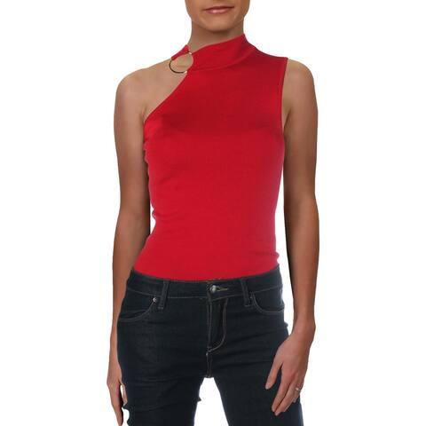 Elie Tahari Womens Izra Sweater Merino Wool Bodysuit - Bolero