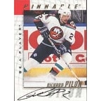 Richard Pilon New York Islanders 1998 Pinnacle Be A Player Certified Autograph Autographed Card  Ce