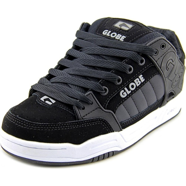 Globe Tilt Men Round Toe Leather Skate Shoe