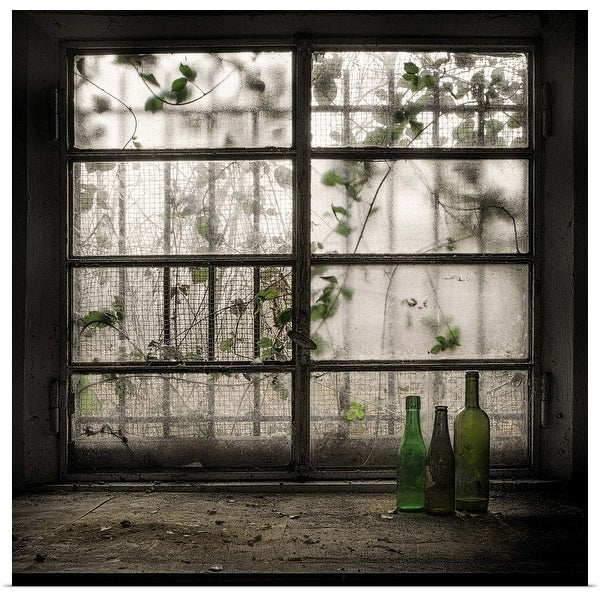 """""""Still-Life With Glass Bottle"""" Poster Print"""