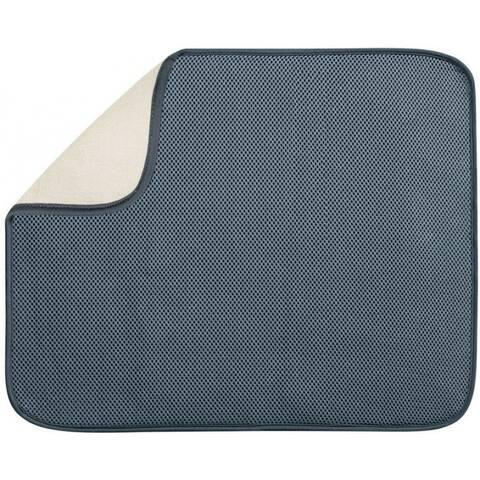 InterDesign 41241 Drying Mat, Pewter