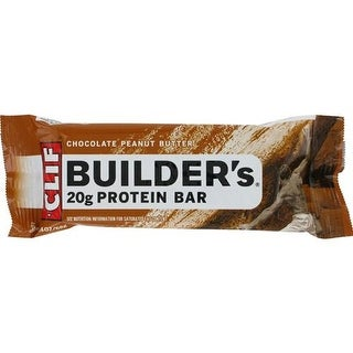 Clif Bar - Clif Builder's Chocolate Peanut Butter Bar ( 12 - 2.4 OZ)