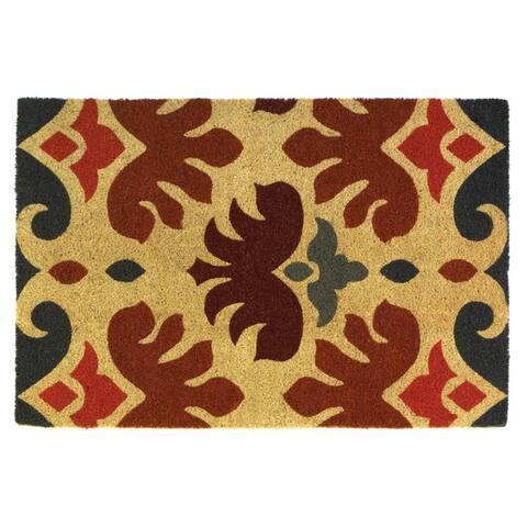 Nikki Chu Charles Rooster Coir Doormat