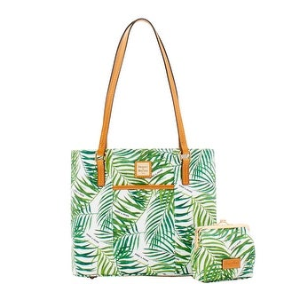 Dooney & Bourke Siesta Coated Cotton Small Lexington Large Frame Purse (Introduced by Dooney & Bourke at $268 in Jan 2018)