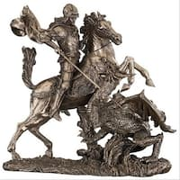 Design Toscano St. George Slaying the Dragon Sculpture