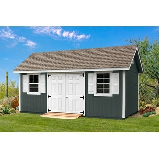 10 x 18 Fairmont Shed Kit with Flooring