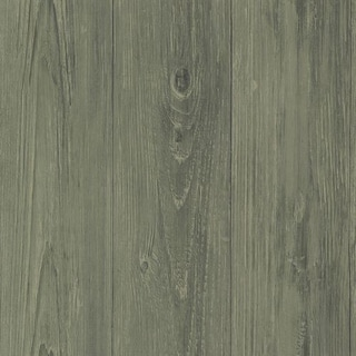 Brewster CTR64222 Mapleton Sage Faux Wood Texture Wallpaper
