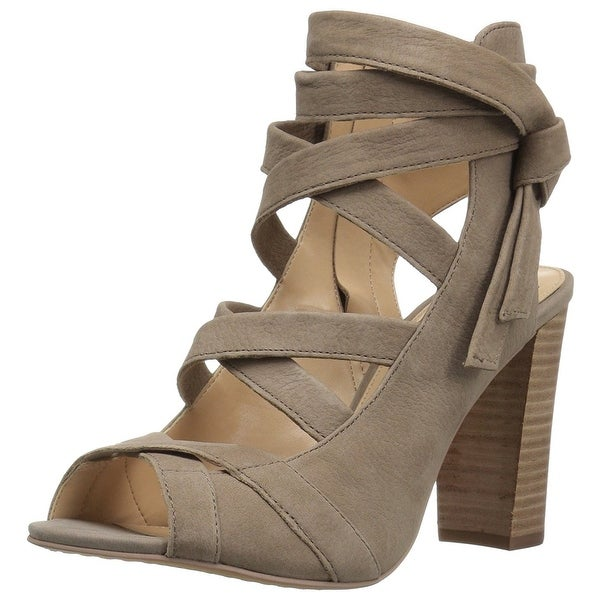 Vince Camuto Women's Sammson Dress Sandal, Smoke Show, Size 6.5