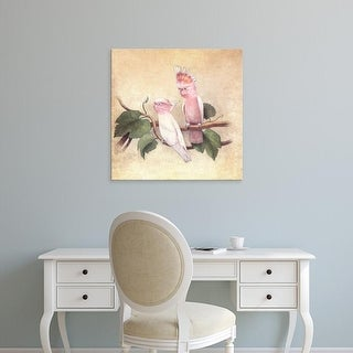 Easy Art Prints Terry Fan's 'Pink Cockatoos' Premium Canvas Art