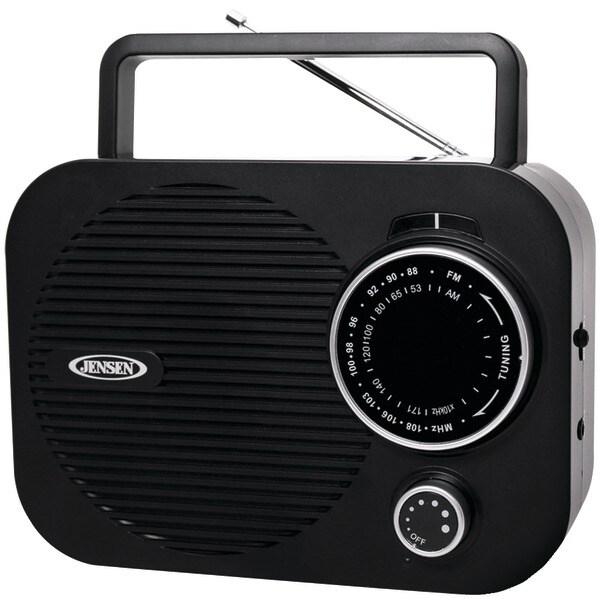 Jensen Mr-550-Bk Portable Am/Fm Radio (Black)