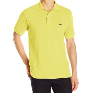 Lacoste NEW Sunny Yellow Mens Size 3XL Classic-Fit Pique Polo Shirt