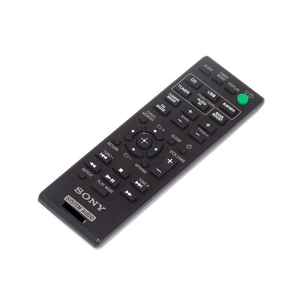 NEW OEM Sony Remote Control Originally Shipped With CMTBT80W, CMT-BT80W