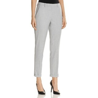 T Tahari Womens Ashley Dress Pants Pleated Cuffed