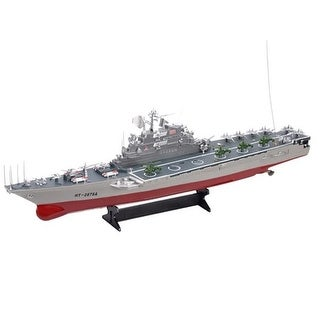 30 in. HT-2878 Large Warship Challenger Boat Toy with Two Very Fas