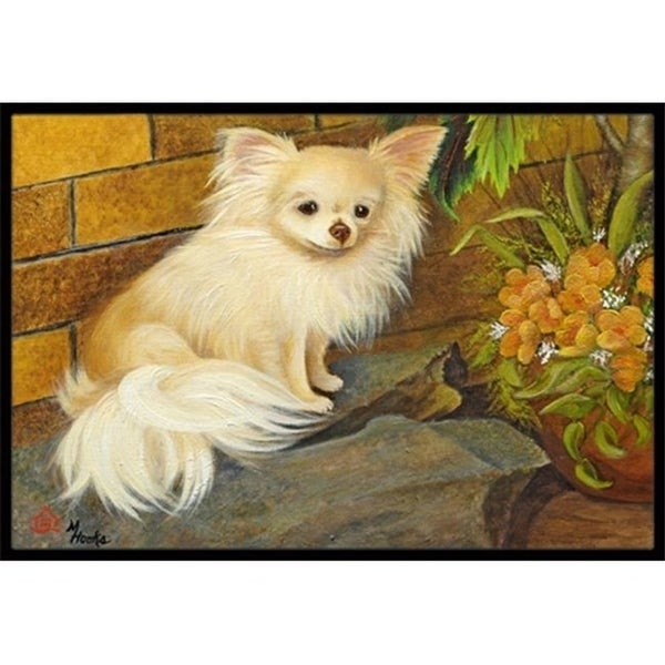 Carolines Treasures MH1053MAT Chihuahua Just Basking Indoor & Outdoor Mat 18 x 27 in.