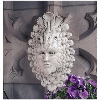 Design Toscano Presence of Carnevale: Greenman Wall Sculpture