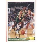 Eddie Johnson Seattle Supersonics 1993 Upper Deck Autographed Card This item comes with a certific
