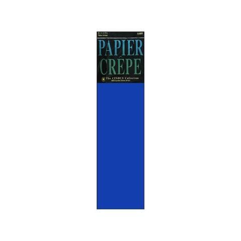 1157 cindus crepe flat fold pkg 20 x7 5 royal blue