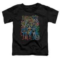 Dc-Original Universe - Short Sleeve Toddler Tee - Black, Medium