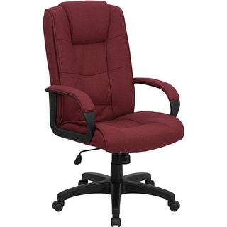 Offex High Back Burgundy Fabric Executive Office Chair [OF-GO-5301B-BY-GG]