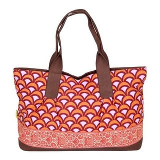 Amy Butler Women's Abina Tote Fountains Tangerine - us women's one size (size none)