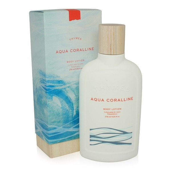 Thymes Body Lotion - Aqua Correline - 9.25 Oz