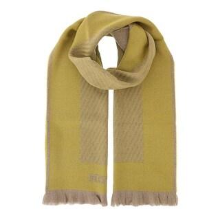 Missoni SC12WOU5084 0006 Mustard/Tan 100% Wool Scarf