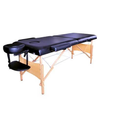 """2 Sections 84"""" Folding Portable SPA Bodybuilding Massage Table"""